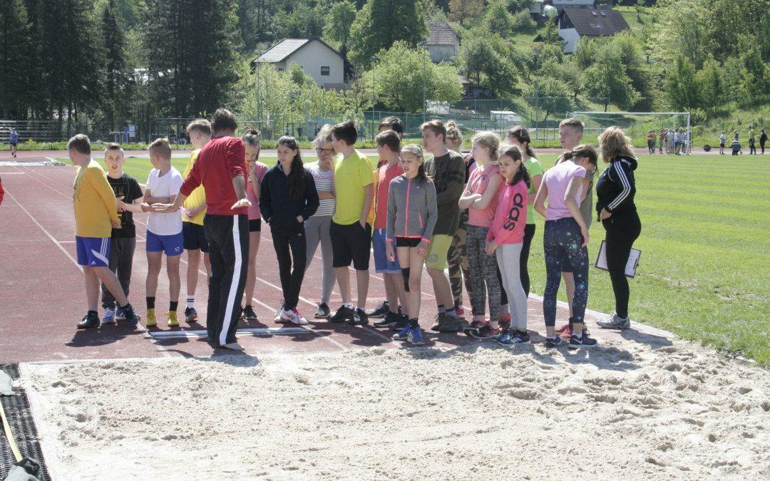 Športni dan: Atletski mnogoboj