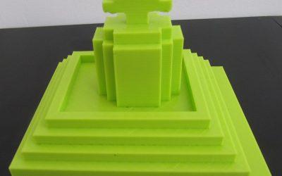 3D-tisk, prvi izdelki učencev