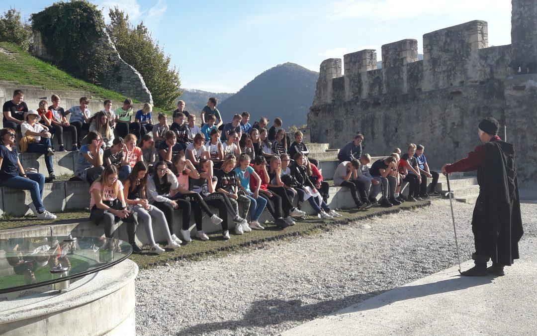 Tehniški dan za 7. razrede: Premogovništvo v novem veku, rimski ostanki in srednjeveški grad