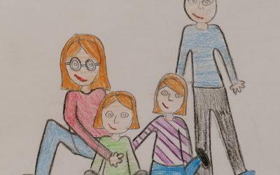 Kako učenci 5. c razreda preživljajo šolo doma