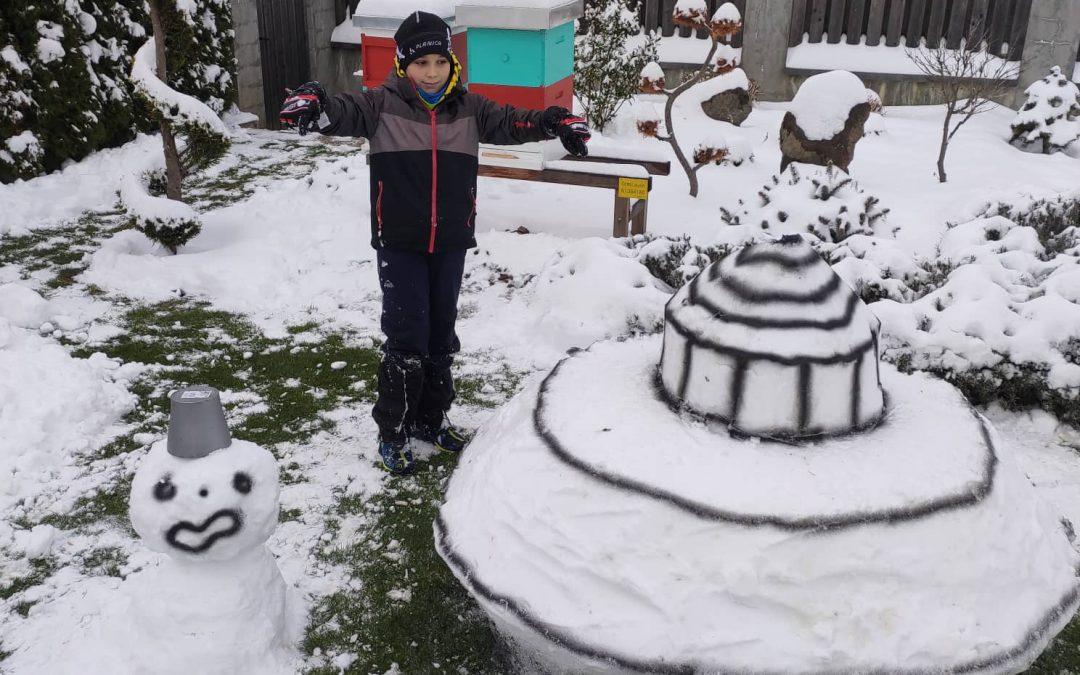 LUM na snegu