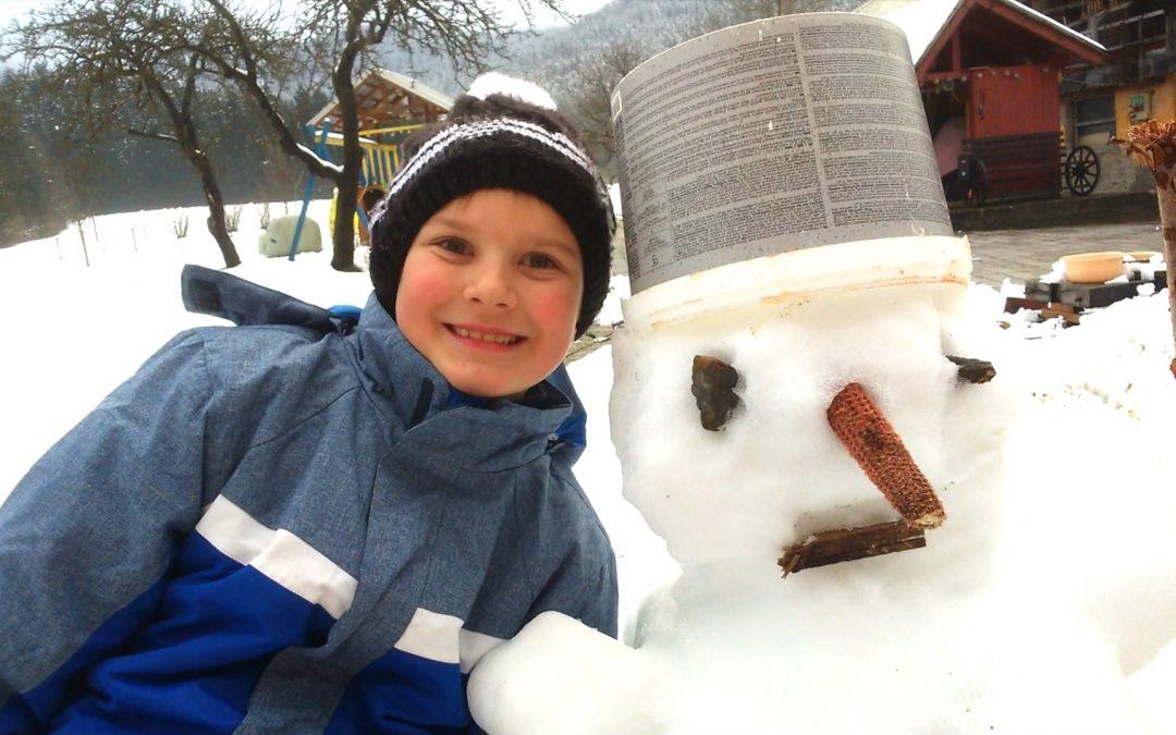 Zimski športni dan, 1. triada Kotlje
